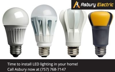 Install LED light bulbs to improve the quality of light in your home
