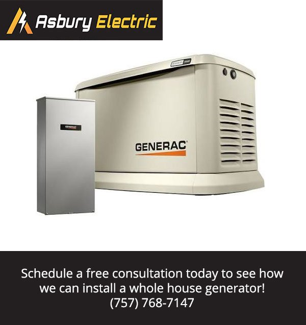Whole House Generator: Peace of Mind